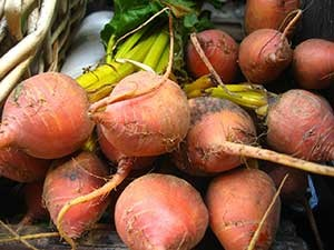 Root vegetables like beets should be carefully cleaned of urban soil. Source: Wikimedia Commons