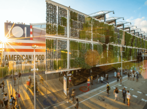 American Pavilion at 2015 World's Fair. Courtesy Amy Storey.