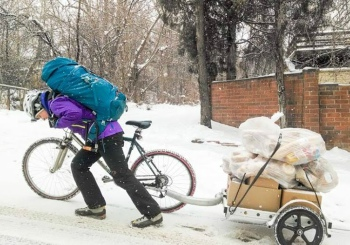 Boulder Food Rescue makes pickups from grocery stores and restaurants seven days per week and in all weather conditions in order to keep food from falling through the cracks. Photo credit: One Thousand Designs