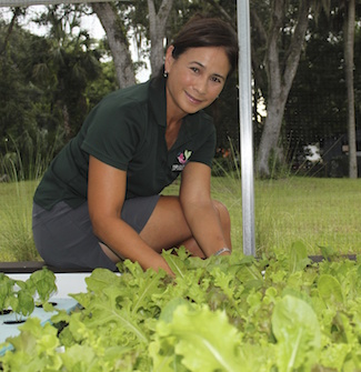 Helga Tan Fellows founder of gyo greens aquaponics florida