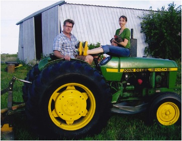 Julia and Todd McDonald of Peasants' Plot. Photo Credit: Peasant's Plot