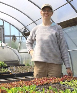 Kirsten Reinford, Farm Manager at Joshua Farm in Harrisburg, PA. Photo Credit: Missy Smith