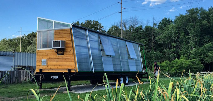 'Insurgent Architecture' Students Built a Mobile Greenhouse to Overcome Urban Farming Challenges