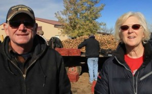 Jerry and Jacquie Monroe of Monroe Organic Farms,