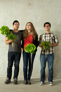 Photo courtesy of The Perennial From left to right: Anthony Myint, Karen Leibowitz, and Chef Chris Kiyuna.