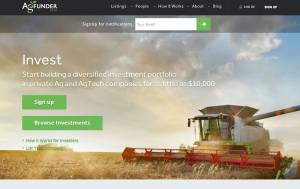 AgFunder opens ag investment to the crowd with beta launch of a new equity crowdfunding platform.