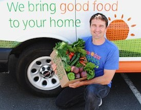 Chad Arnold, CEO of Door to Door Organics. Photo Credit: Door to Door Organics.