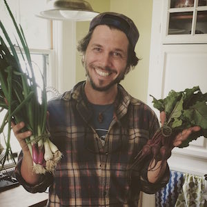 elliott kuhn founder of cottonwood urban farm in san fernando valley california