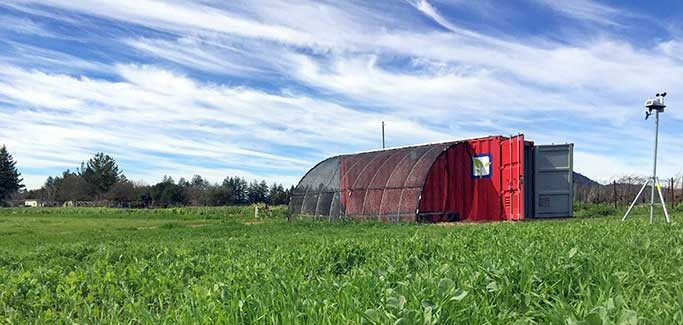 A 2-acre Farm in a Box: Kits Deliver Off-grid Farming Components in Shipping Containers