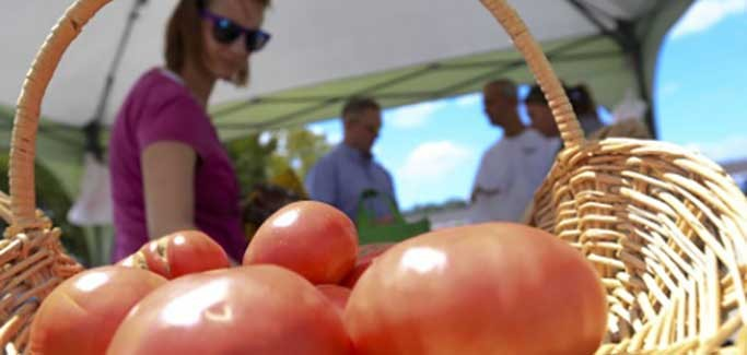 Initiative Supports Farmers' Markets on Military Bases to Improve Healthy Food Access