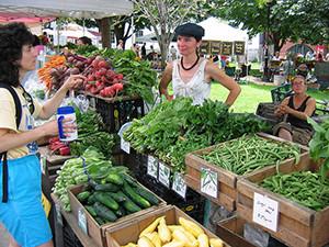 Burlington City Hall Farmer's Market by Church Street Marketplace