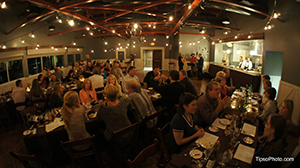 Patrons of East End Market in Orlando, Florida gather for a harvest dinner. (photo courtesy of Heather Grove/East End Market)