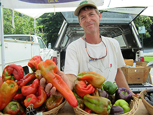 Asheville Farmers' Market. Photo courtesy of Appalachian Sustainable Agriculture Project