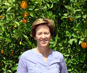 Dr. Peggy A. Mauk. Director of Agricultural Operations and Subtropical Horticulture Specialist, UC Riverside Photo courtesy of Dr, Mauk