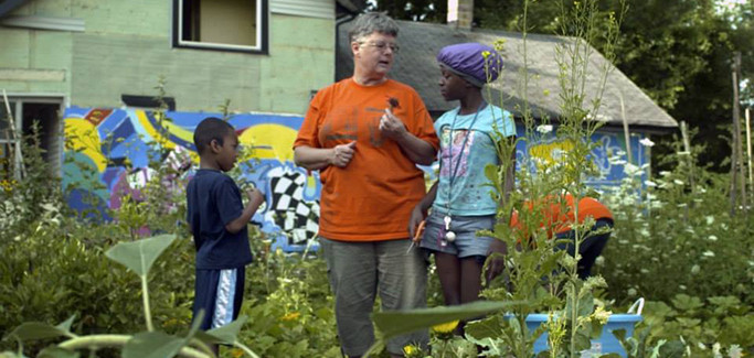 From Blight to Opportunity: Detroit Woman Puts Kids to Work in Community Garden
