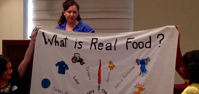 Real Food Challenge: Student Activists Help Campuses Eat Smarter