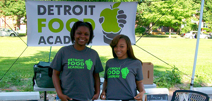 Detroit After-School Program Teaches Youth Business Of Food
