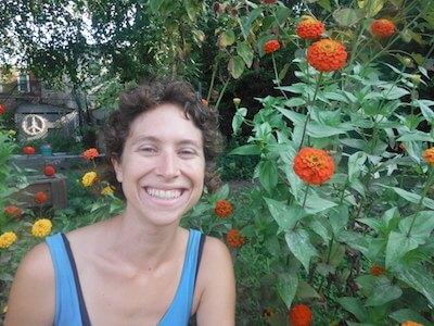 Ari Rosenberg is an urban farmer in Philadelphia. (photo courtesy Ari Rosenberg)
