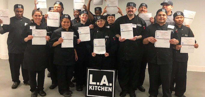 LA Kitchen, Founded by Robert Egger Creates Jobs and Embraces Imperfect Local Produce to make meals for seniors.