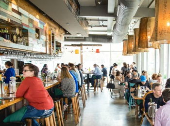 Austin's Odd Duck is part of a growing movement of restaurants pushing the limits of local sourcing. Photo taken by Richard Casteel.