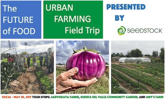 Seedstock Future of Food Urban Farming Field Trip