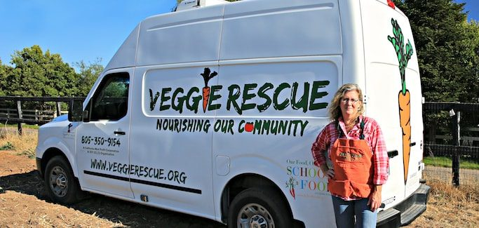 California Gleaning Org Diverts Food Waste from Field to School Lunches