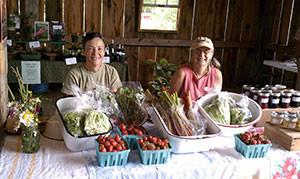 Photo courtesy of Judy Dauson. Beck (left) Dauson (right).