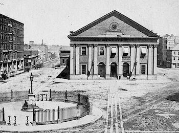 Boston's historic Photo Courtesy of Wikimedia Commons.