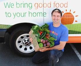 Chad Arnold, CEO of Door to Door Organics. Photo Credit: Door to Door Organics.