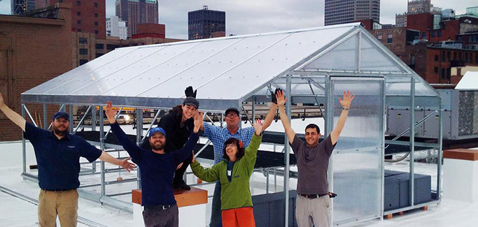 St. Louis Welcomes First Rooftop Farm