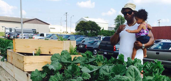 Youth Learning Center Turns to Urban Farming for Education, Neighborhood Revitalization