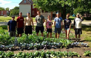 Michigan Urban Farming Initiative is a 501(c)3 nonprofit that implements urban agriculture as a tool for addressing structural food inequality through education and community building. Photo Credit: MIUFI