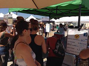 Orange Home Grown Farmers' and Artisans Market in Orange, CA. Photo credit Lisa David.