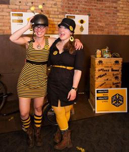 Beez Kneez Founders Kristy Allen and Erin Rupp. Photo courtesy of Erin Rupp