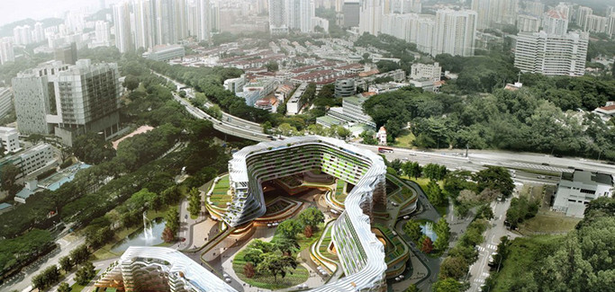 Singapore Urban Farm Design Looks to Engage Active Seniors