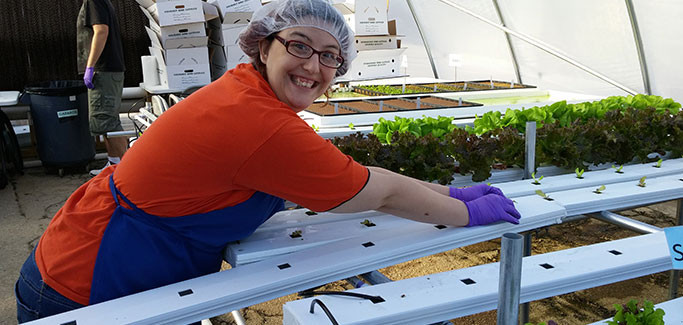 Indiana Hydroponic Farm Grows People and Produce