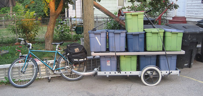 Detroit Produce Peddlers: Delivering Fresh Food on Two Wheels