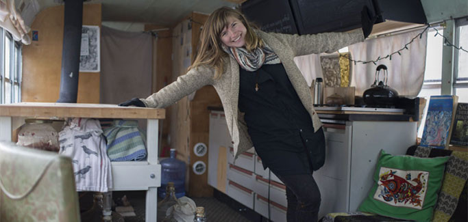 Fermentation Bus Preaches Benefits of Preserving Local Food
